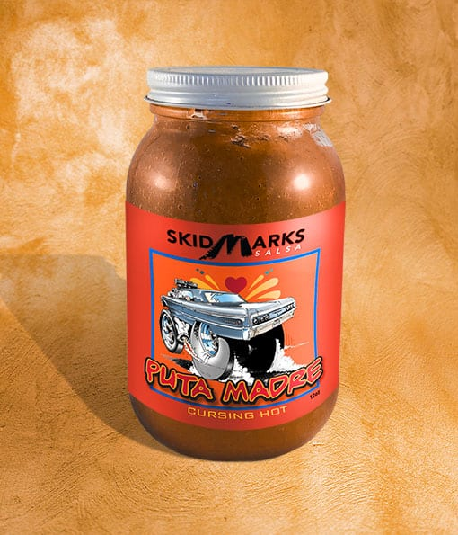 Puta Madre is the spiciest mix of the Skidmarks Salsa trio from Heritage Autopro.